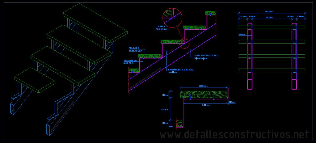Acero - Escaleras de acero ...