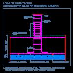 losa_cimentacion_hormigon_armado_concreto_columna_arranque_pilar_dwg_detalle