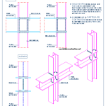 union_perfiles_metalicos_pilar_columna_viga_heb_soldadura_dwg_detalle_bloque_cad