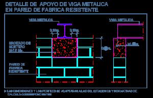 apoyo_entrega_viga_metalica_perfil_pared_carga_fabrica_resistente_dwg_detalle