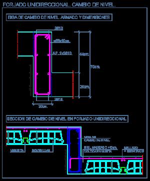 cambio_nivel_desnivel_forjado_losa_unidireccional_lajes_unidireccionais_plancher