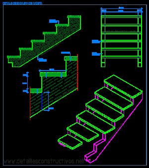 escalera_de_madera_zancas_huella_croquis_escaliers_en_bois_particolare_scala