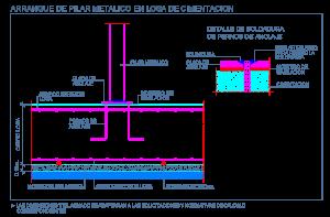 losa_cimentacion_hormigon_armado_concreto_columna_arranque_pilar_metalico_perfil