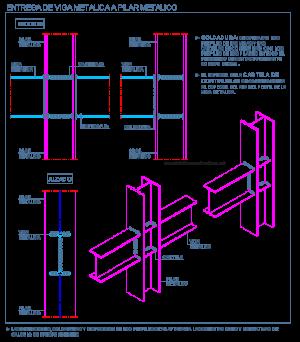union_perfiles_metalicos_2_pilar_columna_viga_heb_soldadura_dwg_detalle_bloque_c