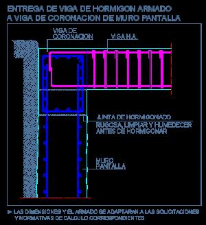 viga_hormigon_armado_coronacion_muro_pantalla_entrega_slurry_wall_concreto_cad
