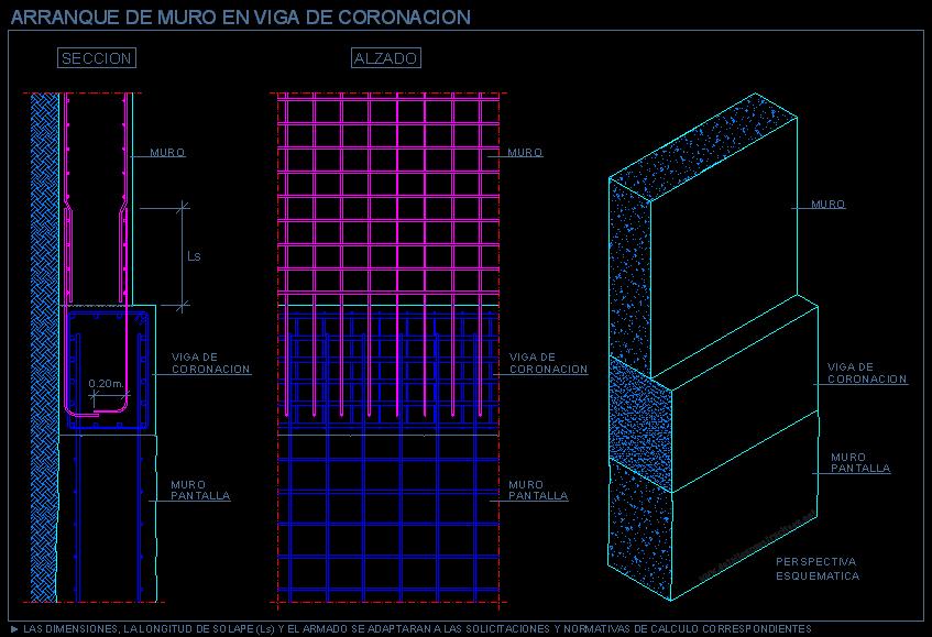 Concreto for Muro de concreto armado
