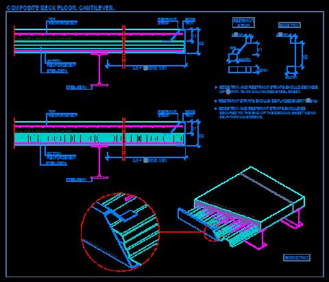 cantilever_framing_composite_steel_deck_decking_floor_slab_sheets_steel_beam_con