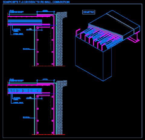composite_steel_deck_decking_floor_slab_sheets_reinforced_concrete_wall