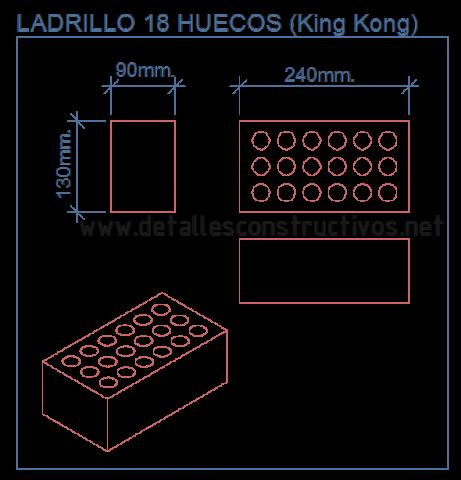 ladrillo_king_kong_brick_18_huecos_perforado_calado_carga_resistente_cad_detalle_dwg_load_bearing_wall_muro_portante_pared