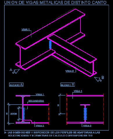 Unión entre perfiles metálicos 5