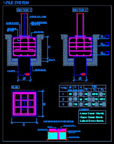 pile_cap_1_system_steel_column_reinforced_concrete_deep_foundations_grupo
