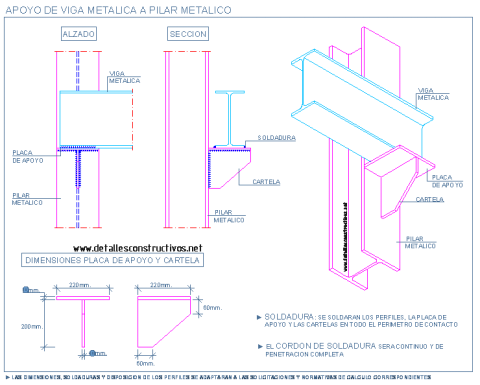 seat_steel_connection_beam_column_apoyo_mensula_metalica_pilar_columna_viga