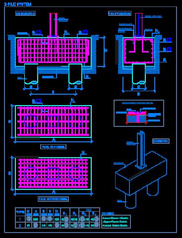 steel_column_pile_cap_2_system_reinforced_concrete_deep_foundations_grupo_estaca
