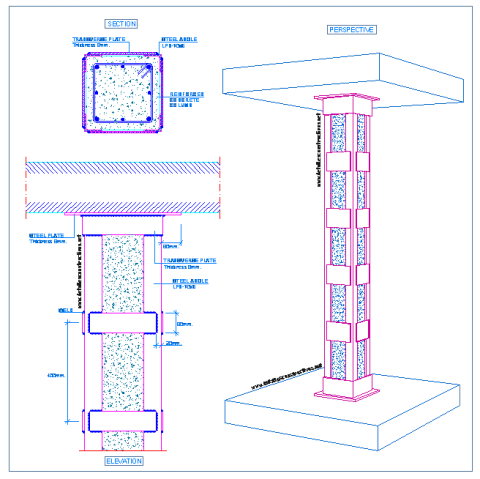 strengthening_rc_columns_reinforced_concrete_steel_jacketing_rehabilitation