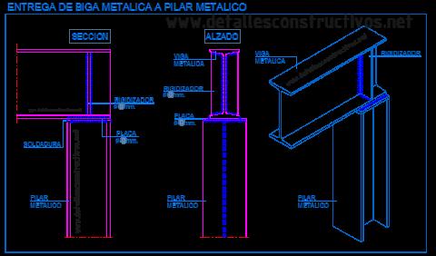 union_articulada_apoyo_perfil_viga_metalica_pilar_acero_ipn_heb_estructura_soldadura_cartela_rigidizador_placa_liaison_poutre_profile_metallique_acier_structure_trave_acciaio_pilastro_dwg